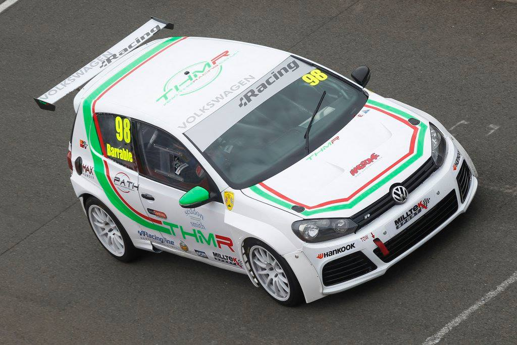 THM Racing - VW Golf on the Grid at Silverstone