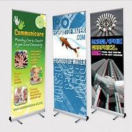 Path Merchandise - roller pop-up banner