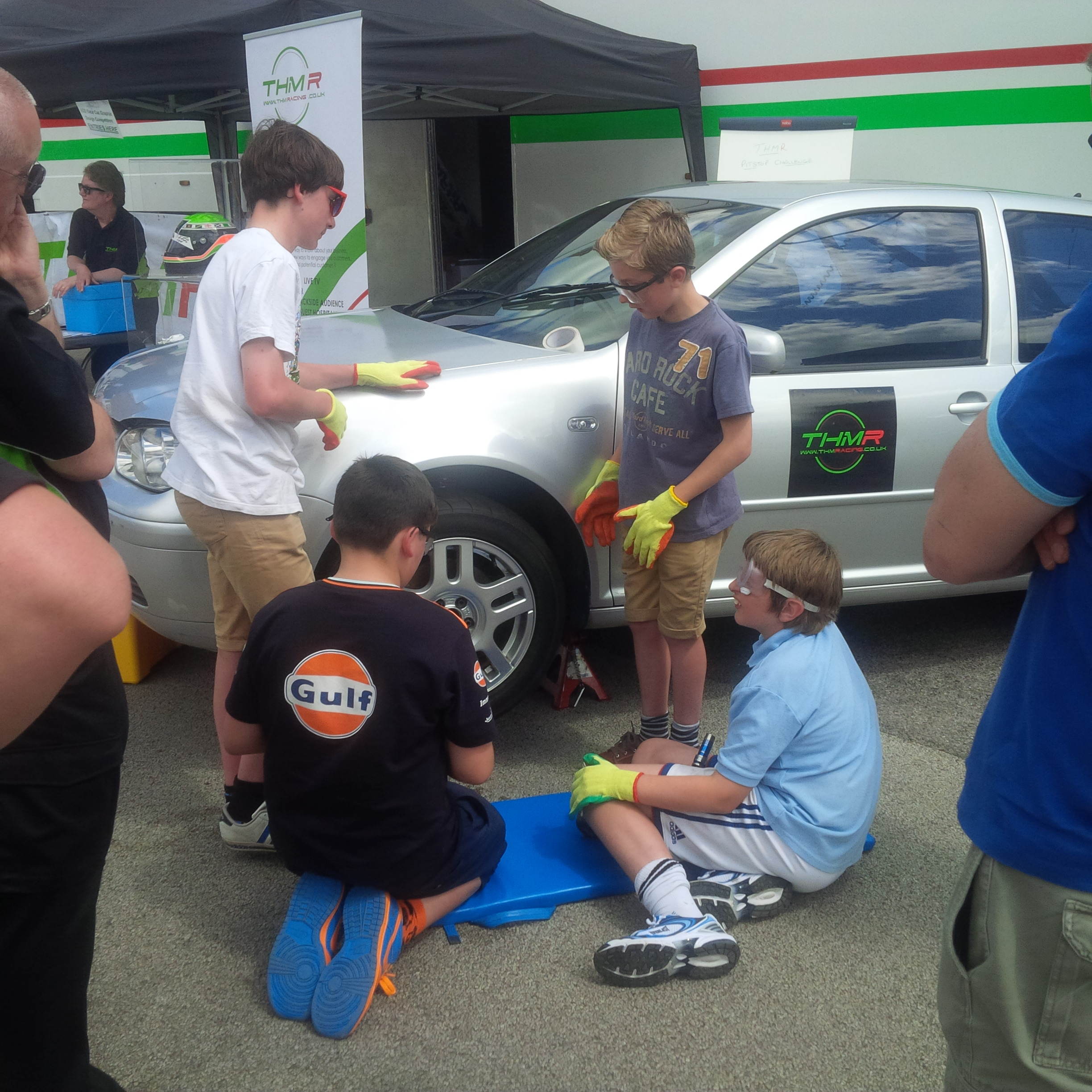 THM Racing Pit Stop Challenge at AGS