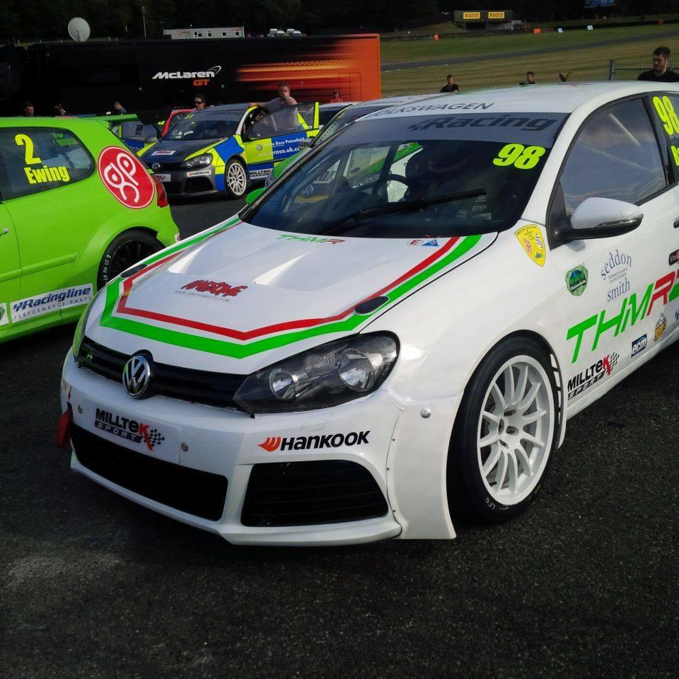 THM Racing - Brands Hatch assembley area 2015