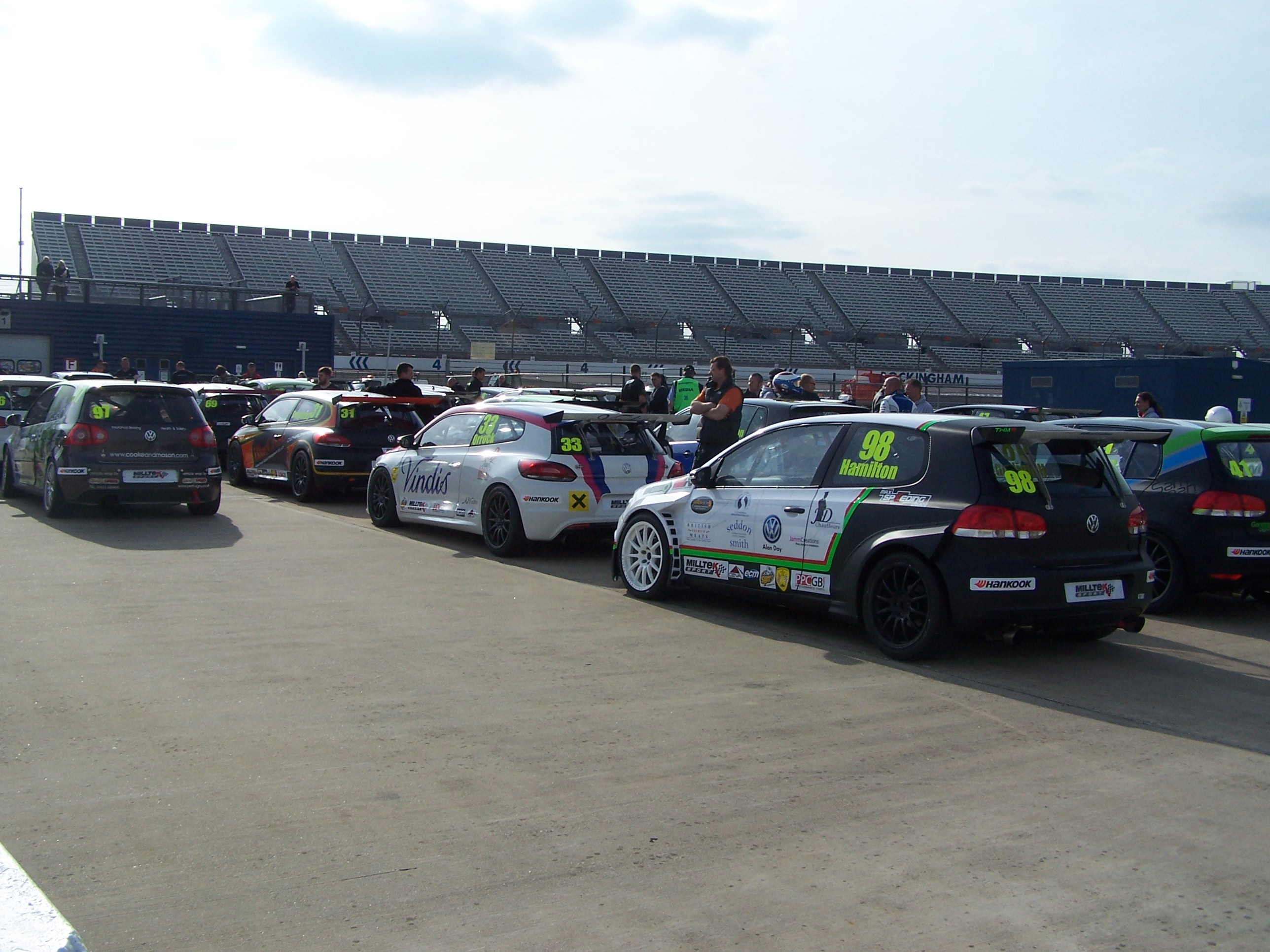 THMR VW Racing Cup Line Up