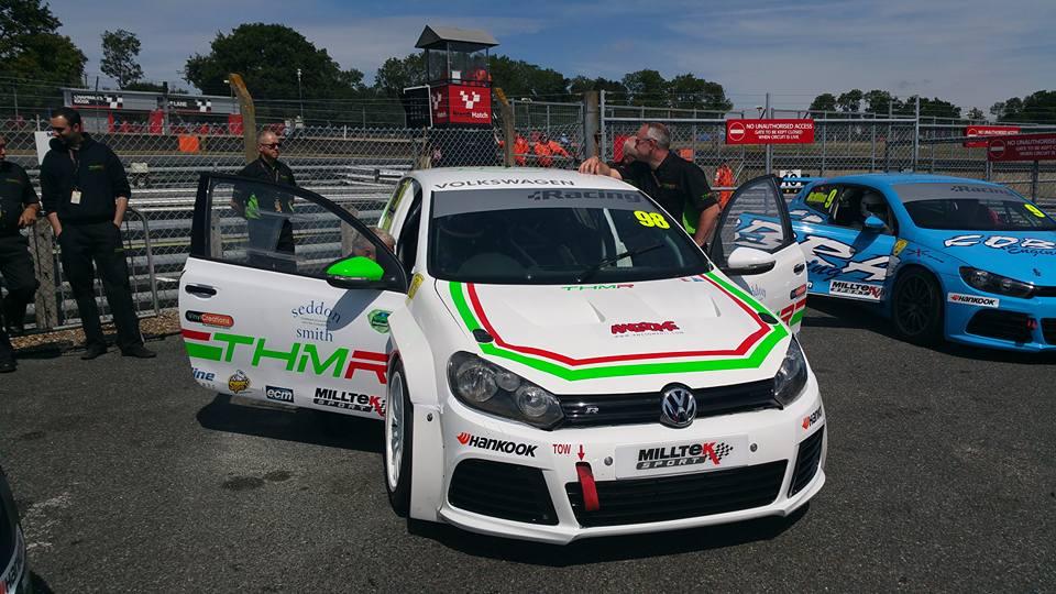 THM Racing - Brands Hatch assembley area