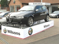 Path Merchandise - car ramp wrap banners