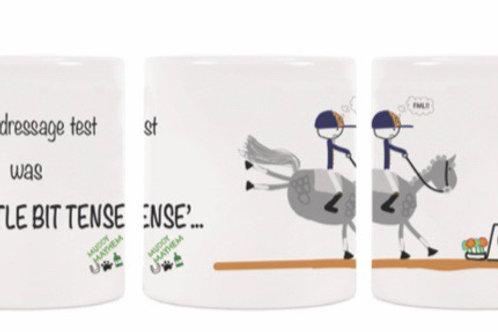 Dressage 2020 mug in a box