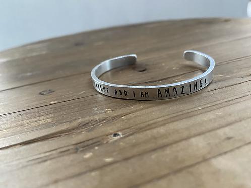 I am an amateur cuff bracelet