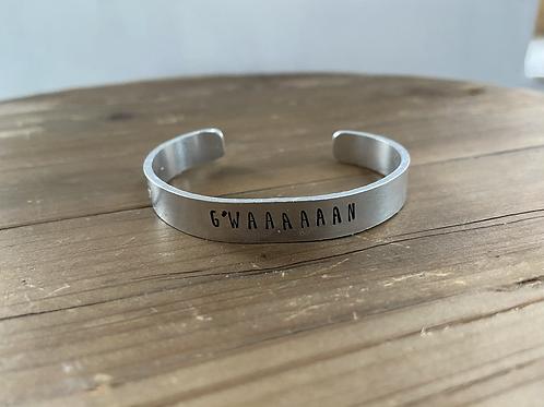 G'WAAAAN cuff bracelet