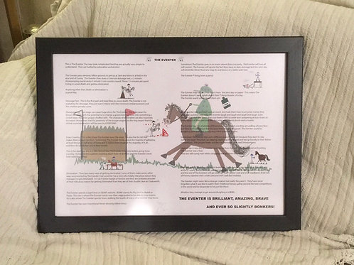 Limited edition print - The Eventer