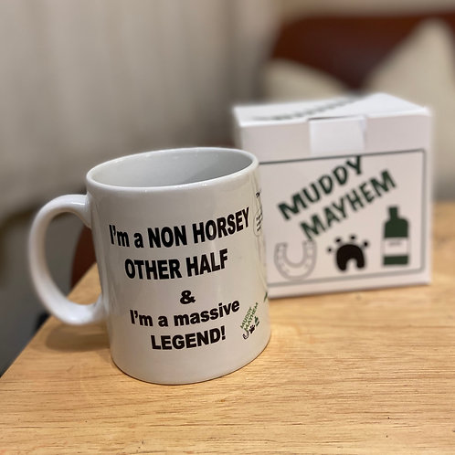 Mug in a box - Non Horsey Other Half