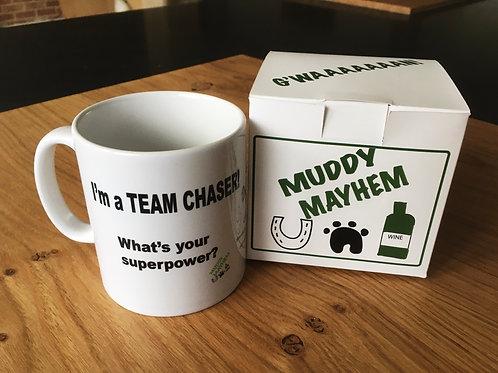 Muddy Mayhem Mug in a Box - Team Chaser