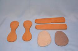 Tejoletas de madera