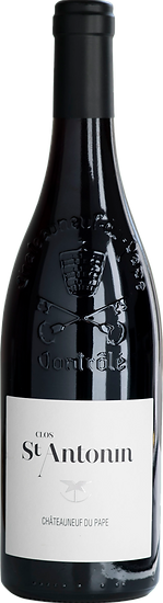 bouteille chateauneuf du pape clos st antonin