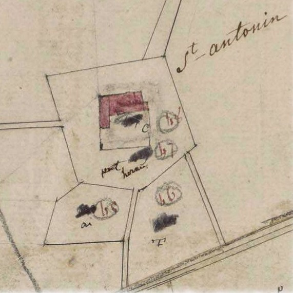 carte napoleonnienne saint antonin