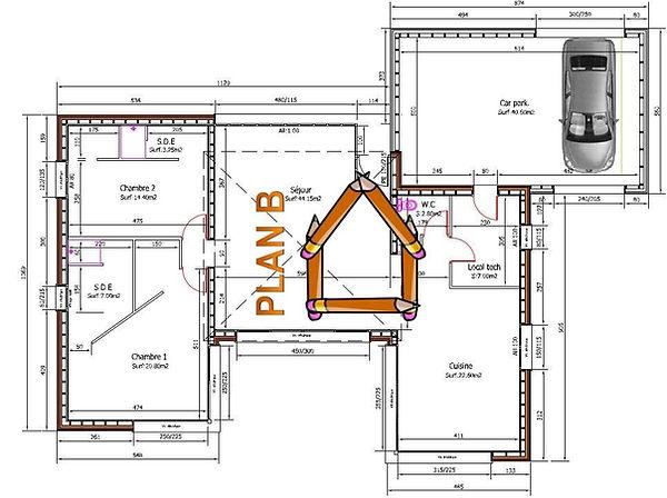 Maisons individuelles   Planb - Dessinateur