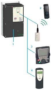 Частотный преобразователь, инвертор, Altivar ATV212