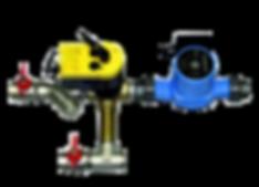 СУ3 смесительный узел с трехходовым клапаном