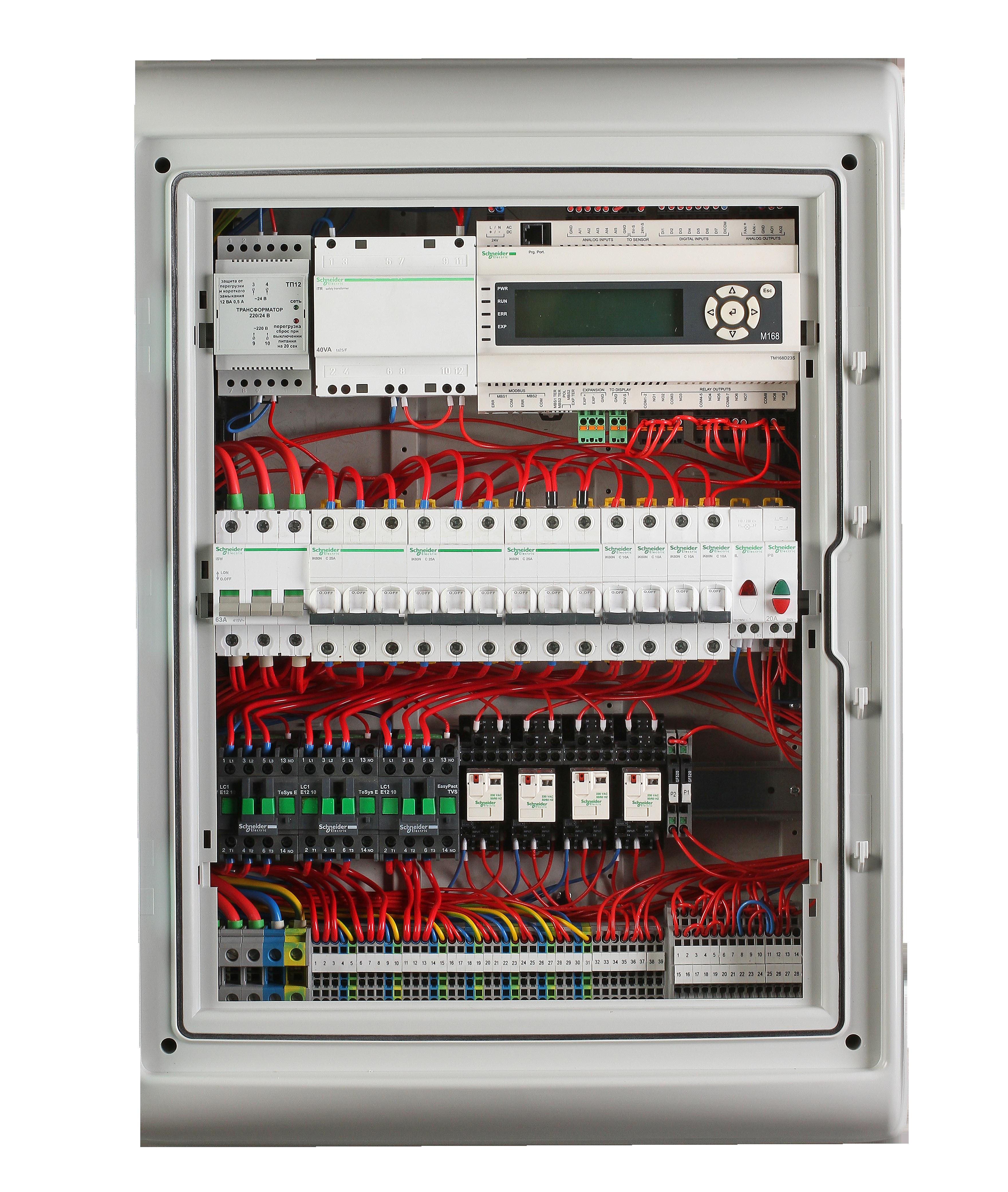 Шкаф управления с контроллером M168