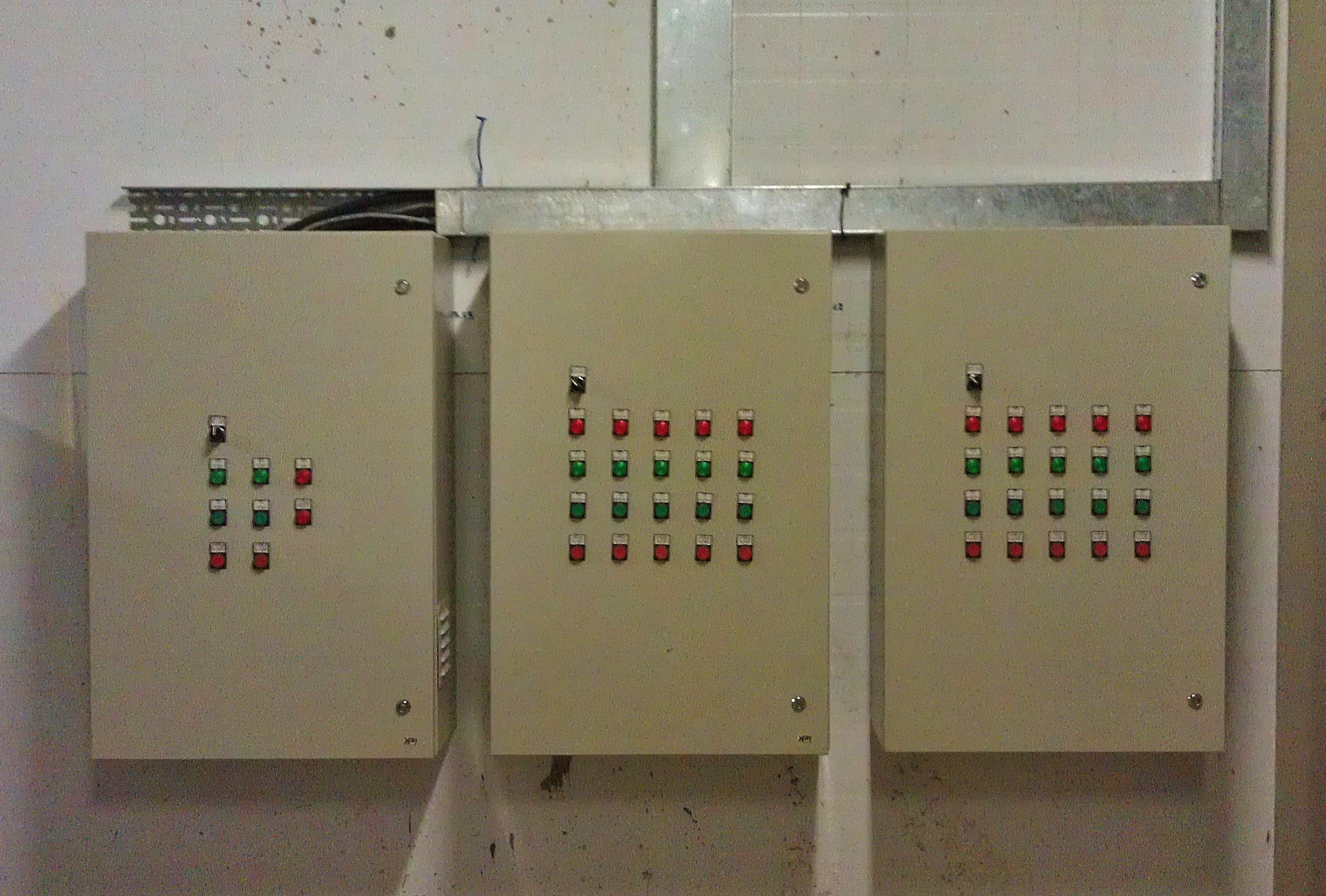 Шкафы управления вентиляцией