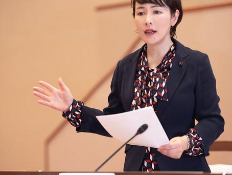 5/20臨時議会において、独自支援に基づく補正予算に会派を代表して質問