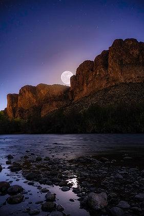 Worm Moon Rising