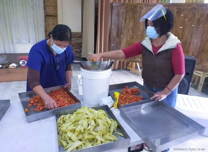 Vegetable dehydration which can prevent farmers' losses introduced to Benguet farmers
