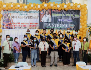 Loyal employees of TAMPCO awarded with P120k cash incentive