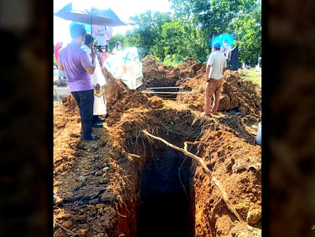 'No more burial of COVID-19 and non-COVID deaths at Balong Cemetery' - Brgy. Officials