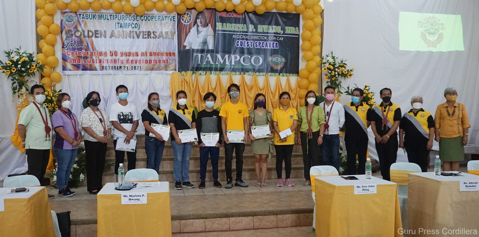 TAMPCO awards P146k to winners, participants of video and art contests