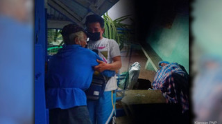 Kiangan police reunite missing old man with Alzheimer's to family