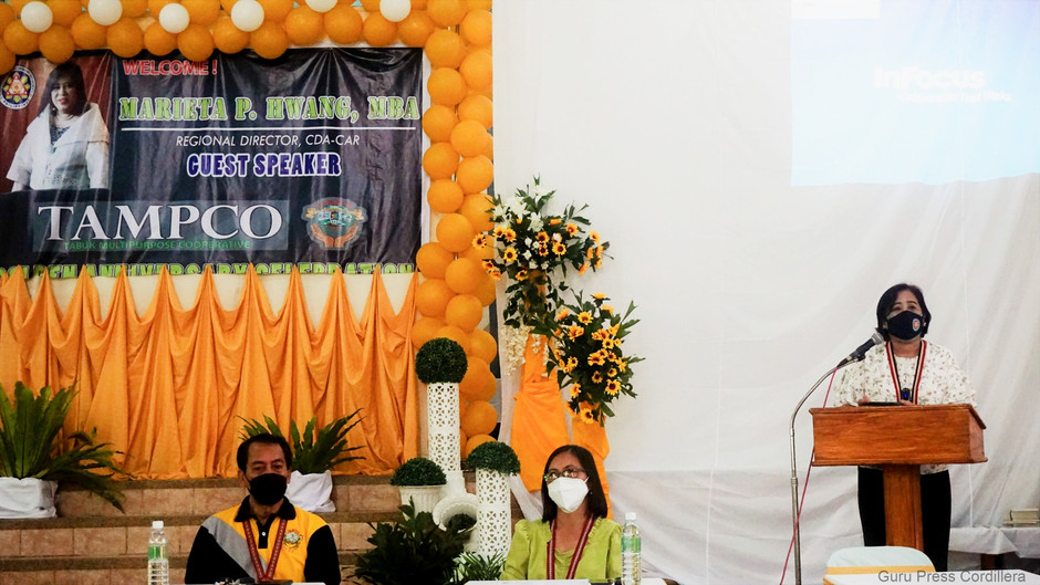 CDA-Regional Director Hwang applauds excellent service of TAMPCO on its 50th Anniversary