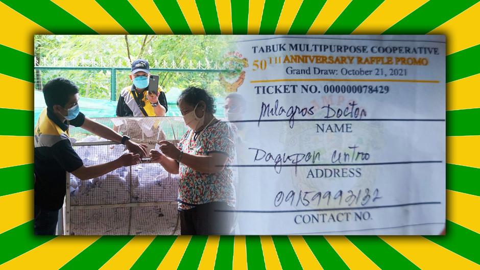 Sari-sari store owner wins TAMPCO Grand Raffle Draw with P100k cash prize