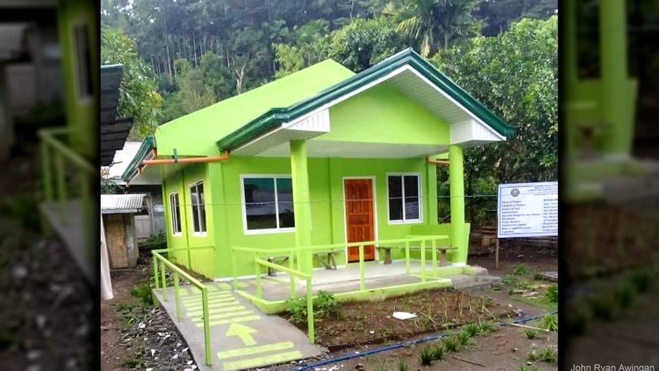 Health Station in Tanudan gets rehabilitation to upgrade quality health service