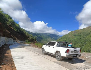 P25.8M Tinglayan access road brings safer, easier travel and transport of products