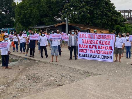 Bulanao vendors held peaceful walk to air side on public market demolition