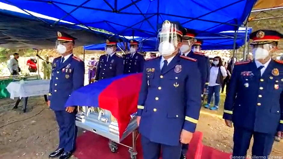 Igorot Police Director killed in Sulu, laid to rest