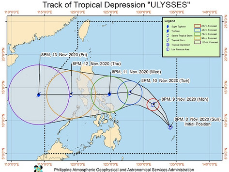 Region CAR expects more rain as Ulysses comes in
