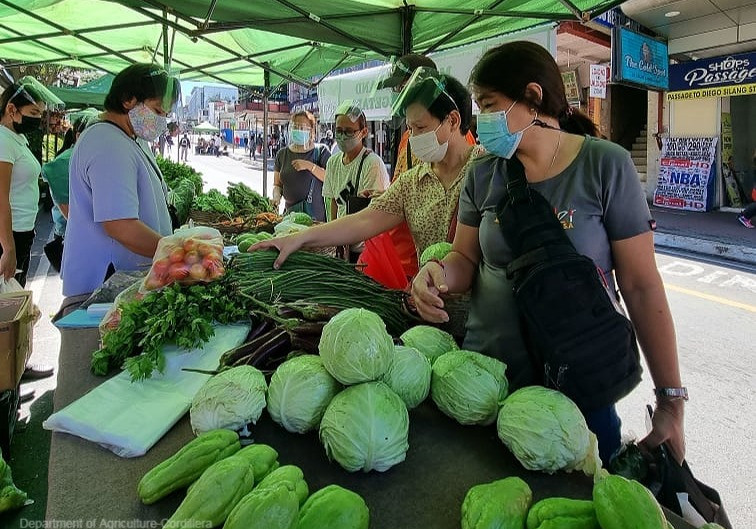 Baguio City Trade Fair sells P1.1M Agri products on its first two Sundays