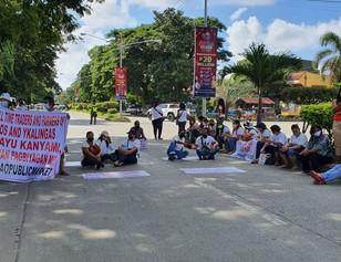 "Bishop's opinion regarding the Bulanao Public Market Press Forum  - ""a successful moro-moro"""