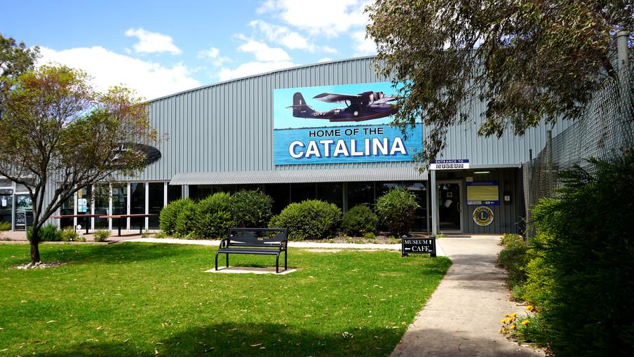 Lake Boga Flying Boat Museum, Catalina, World War II history WWII tours