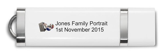 USB Family Portraits 4GB