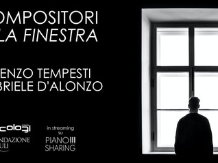 Compositori alla Finestra 21.11.2020 e 04.12.2020