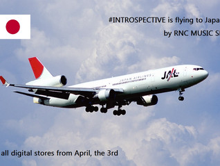 #INTROSPECTIVE IS FLYING  TO JAPAN...