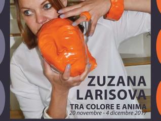 """#Introspective / reinvented alla mostra dell'artista Zuzana Larisova """"Tra colore e anima&qu"""