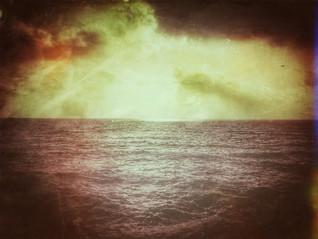 Walking on Grado Beach! This panorama inspired me...