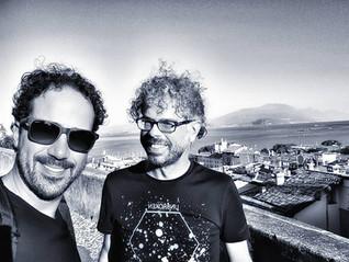 Tour on Desenzano del Garda with Stefano Zeni after recording days!
