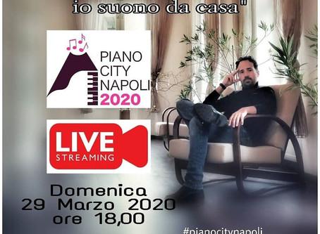"""Aspettando """"Piano City Napoli 2020...io suono da casa"""""""