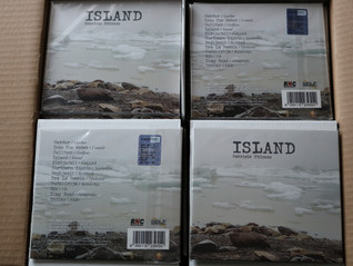 """CD """"ISLAND"""" limited edition available from 22.03.2021"""