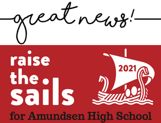 We reached our Raise the Sails goal!