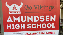Amundsen yard signs are in stock & for sale!