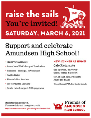 You're invited to Raise the Sails!