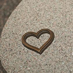 hjärta_brons_dekoration